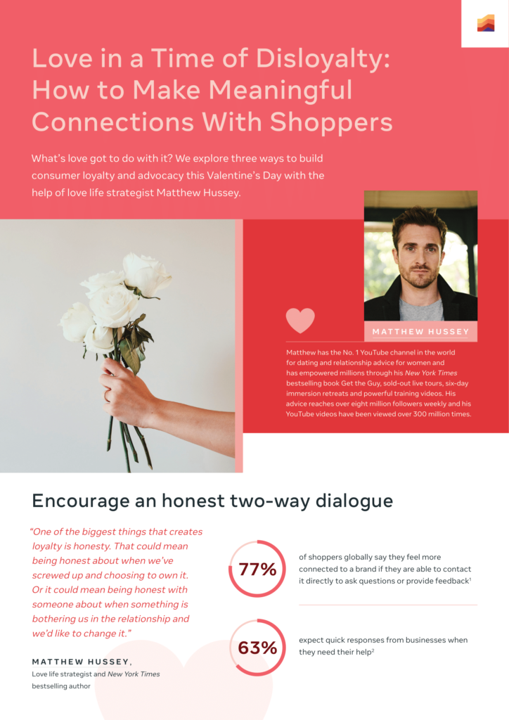 How brands can get some love from shoppers